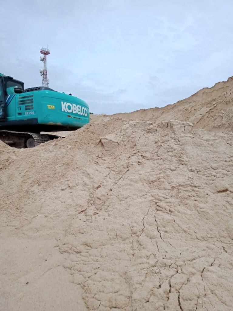 supplier pasir bangka kebon baru
