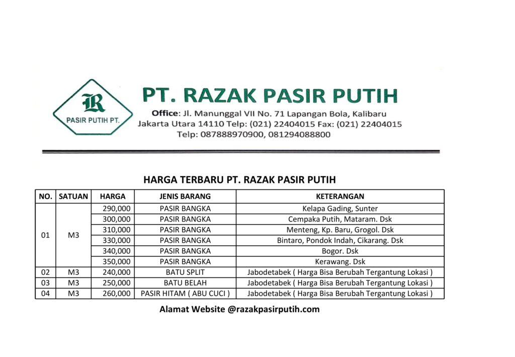 Manfaat Pasir Bangka Untuk Bangunan di Jakarta
